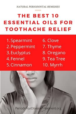 oils for toothache